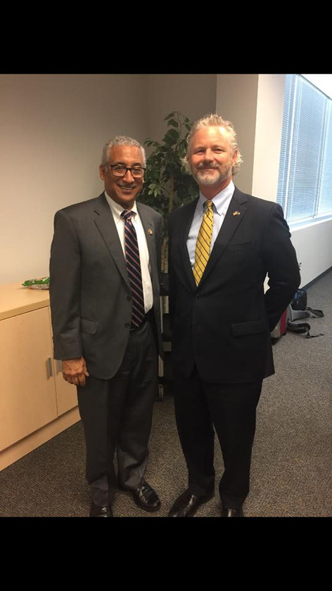 Congressman Scott and Dr. Eric Weisel