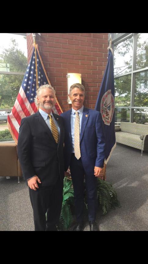 Dr. Eric Weisel and Congressman Wittman