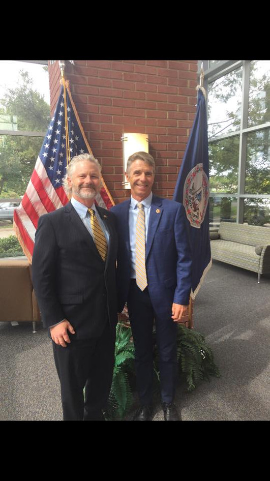 Dr. Eric Weisel and Congressman Wittman