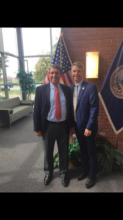 Bob Coates and Congressman Wittman