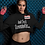 "Thumbnail: Women's Custom ""I'm A Gameaholic"" Crop Hoodie (Members get up to 60% OFF!)"