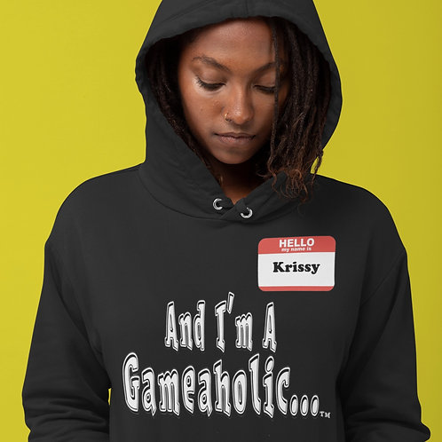 "Women's Custom ""I'm A Gameaholic"" Hoodie (Members get up to 60% OFF!)"