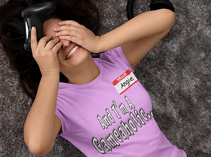 t-shirt-mockup-of-a-gamer-woman-lying-on