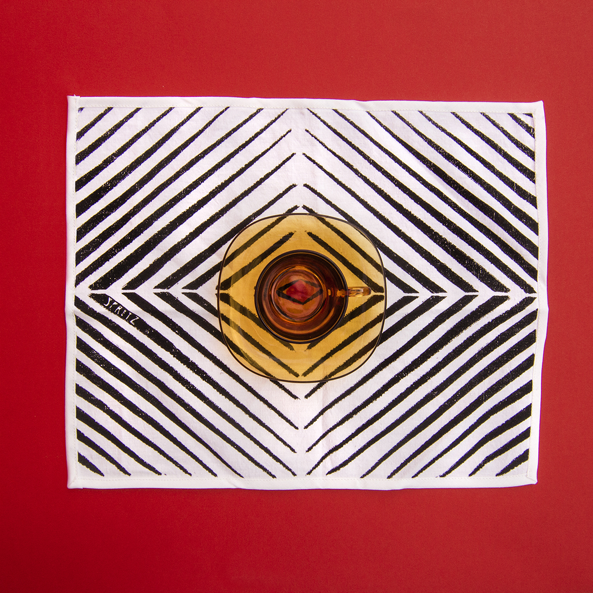 Africa Optical Napkin