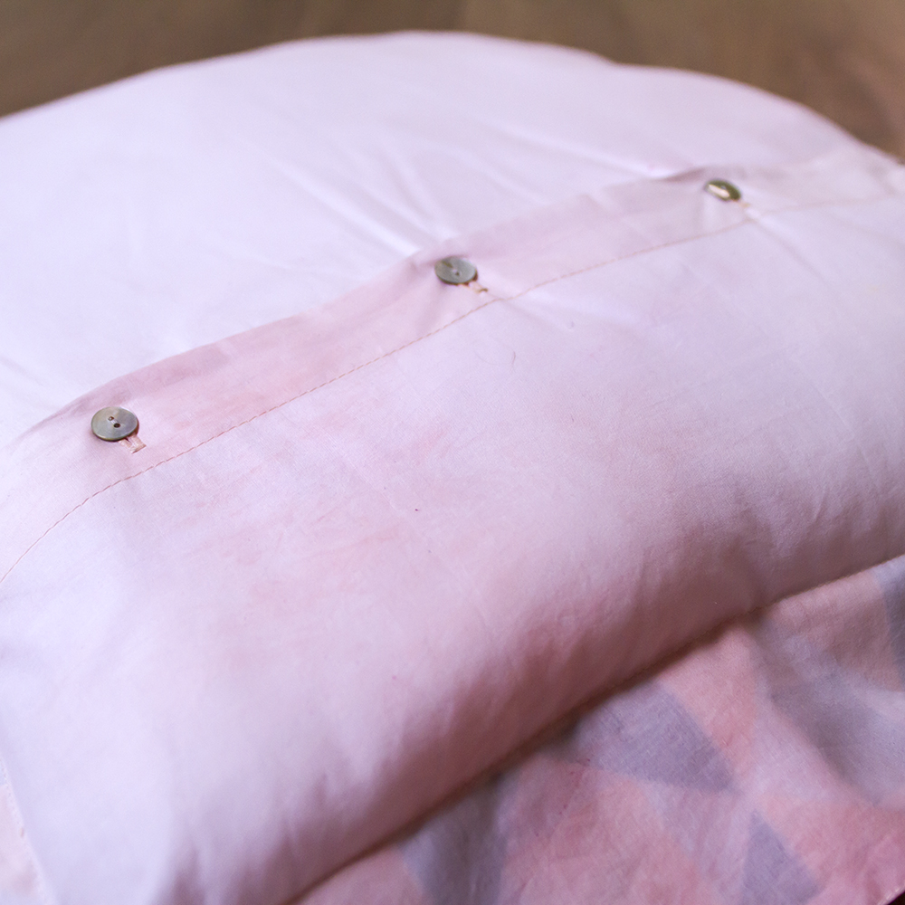 Button Detail PlayTime Pillow Case