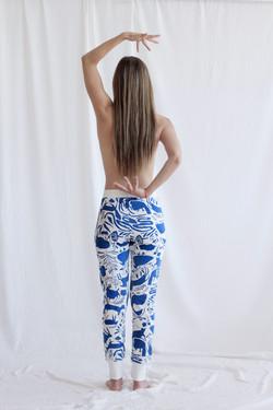 Blue Animals Jogger Pants