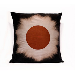 Striped Red Eclipse Pillow Case