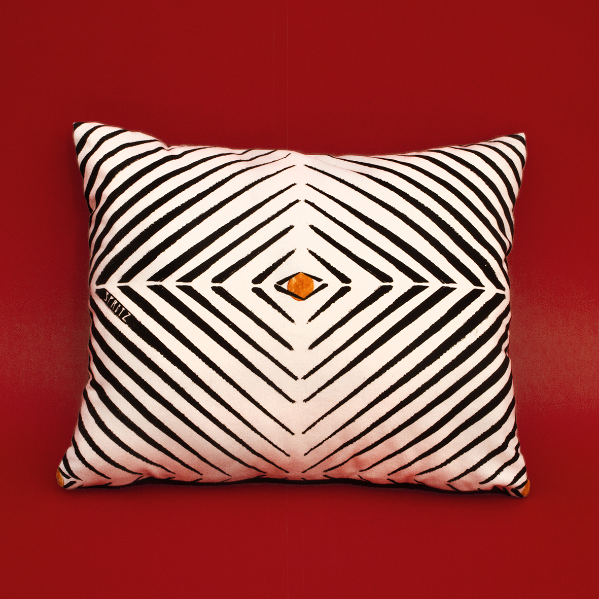 Africa Optical Small Pillow