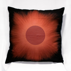 Red Eclipse Big Pillow Case