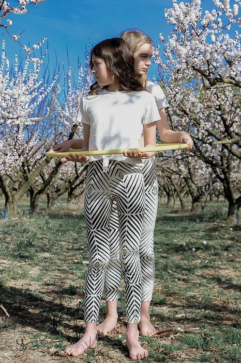 KIDS Organic Cotton Leggings - OPTICAL