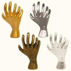Six Fingers Hand Pins & Earrings