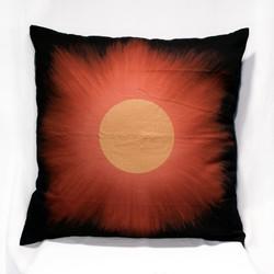 Golden Eclipse Big Pillow Case