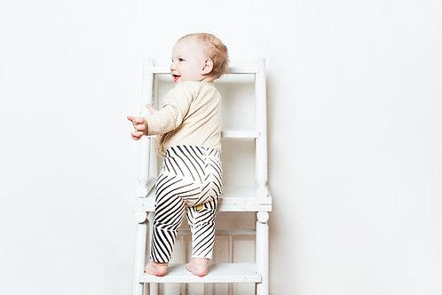 BABY Organic Cotton Leggings - OPTICAL