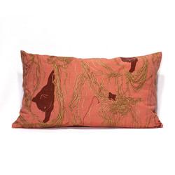 Pink Wool Ball S Pillow Case