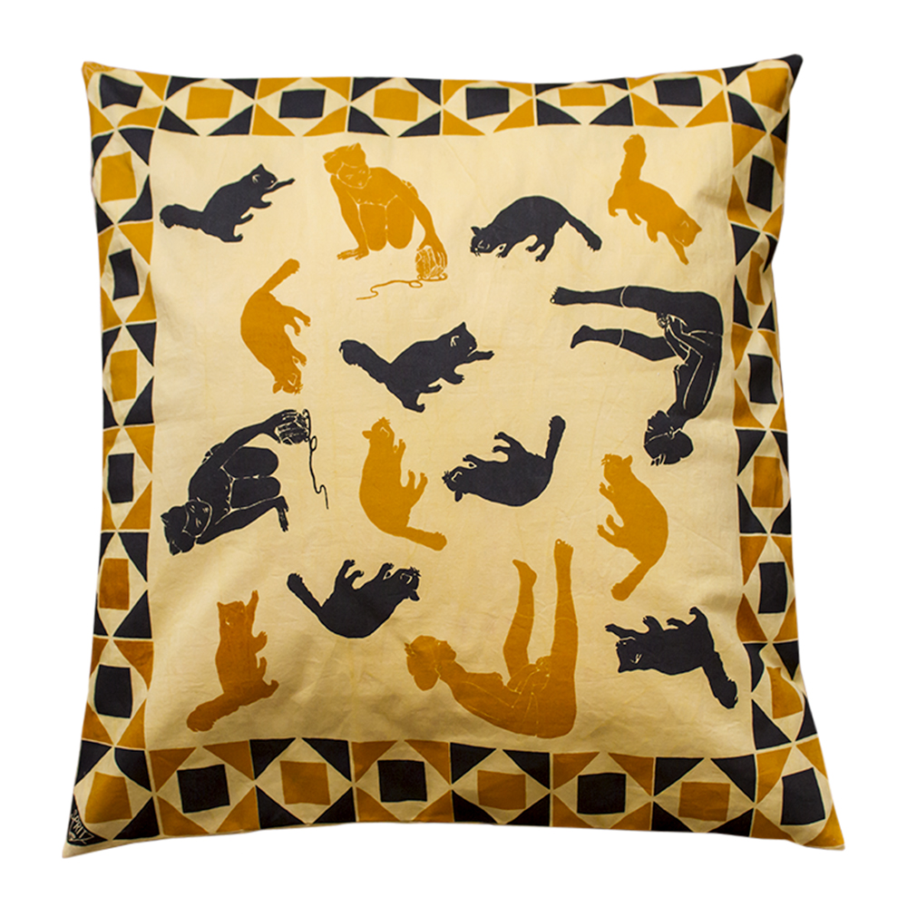 Playtime Yellow XL Pillows