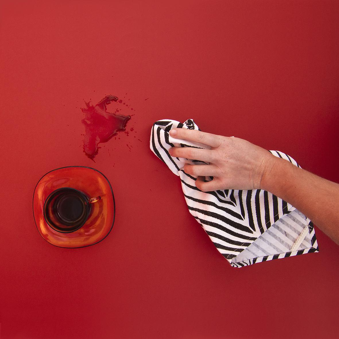 Africa Optical tea towel