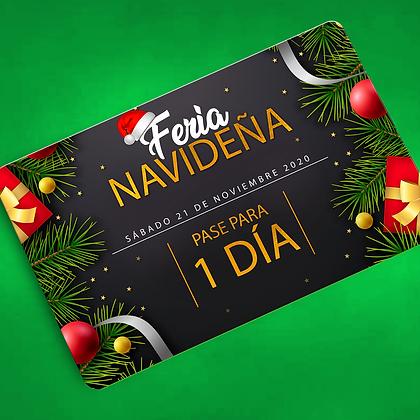 PASE 1 DÍA - FERIA NAVIDEÑA (21 DE NOV)