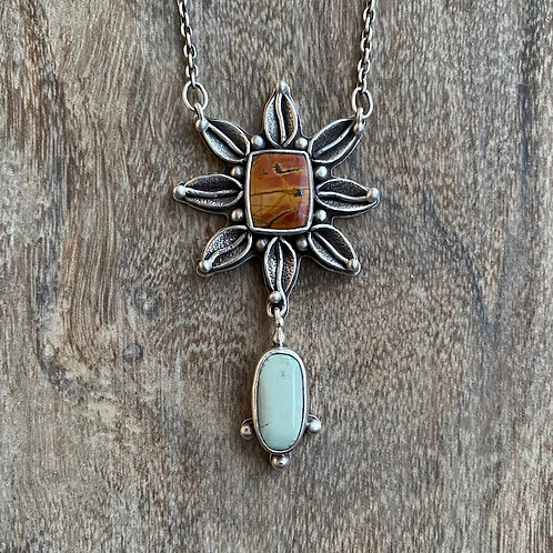 Red Creek Jasper and Turquoise