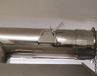 vapour valve damper