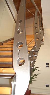 scale con acciaio e legno 2