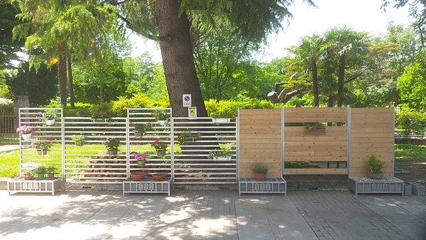 Divisori separe 39 frangivista per giardino for Divisori giardino