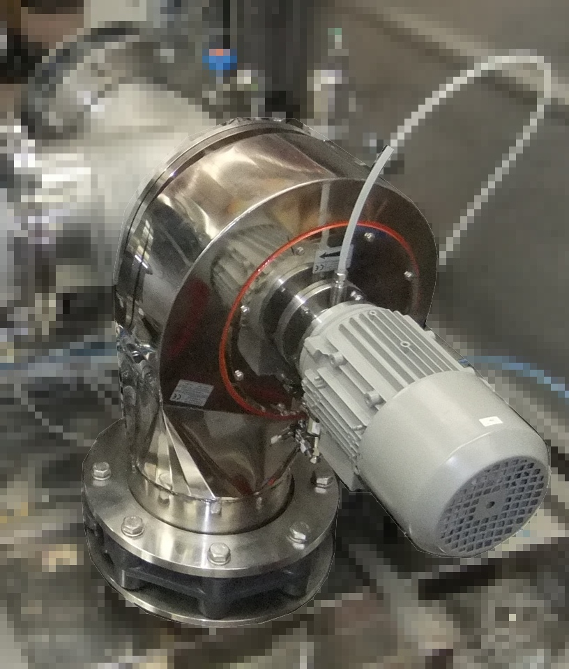 ventilatore tenuta flussata