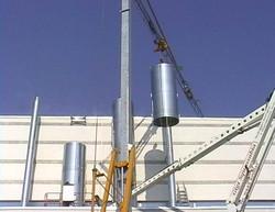 installazione-camino-industriale