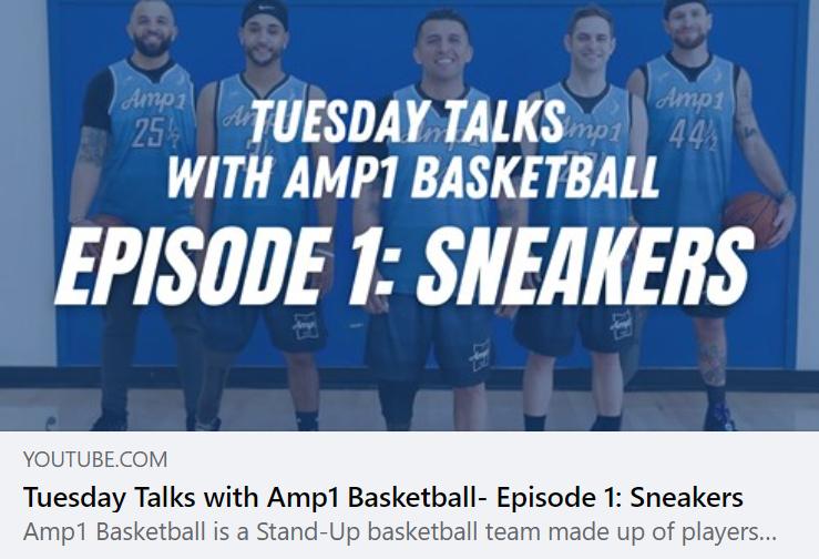 Tuesday Talks with Jovan & Amp1 Basketba