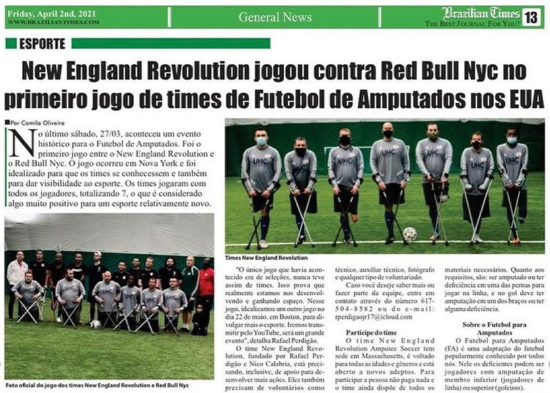 Brazilian Times, April 2nd, 2021