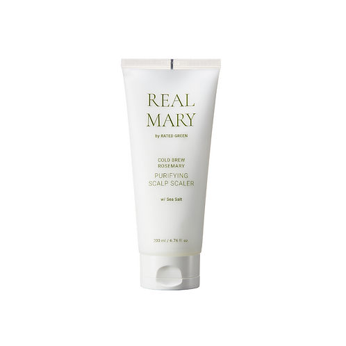 RATED GREEN   REAL MARY COLD BREWED ROSEMARY PURIFYING SCALP SCALER