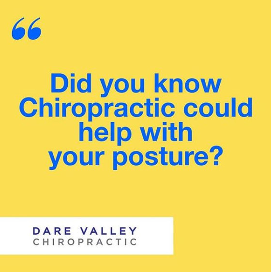 Did you know Chiropractic could help with your Posture?