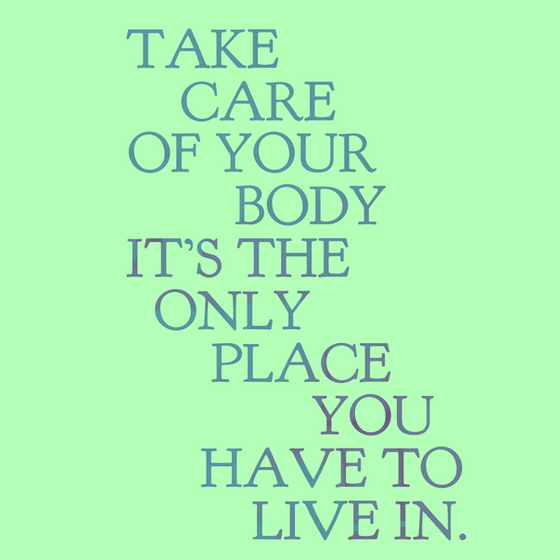 What should you take care of the most?