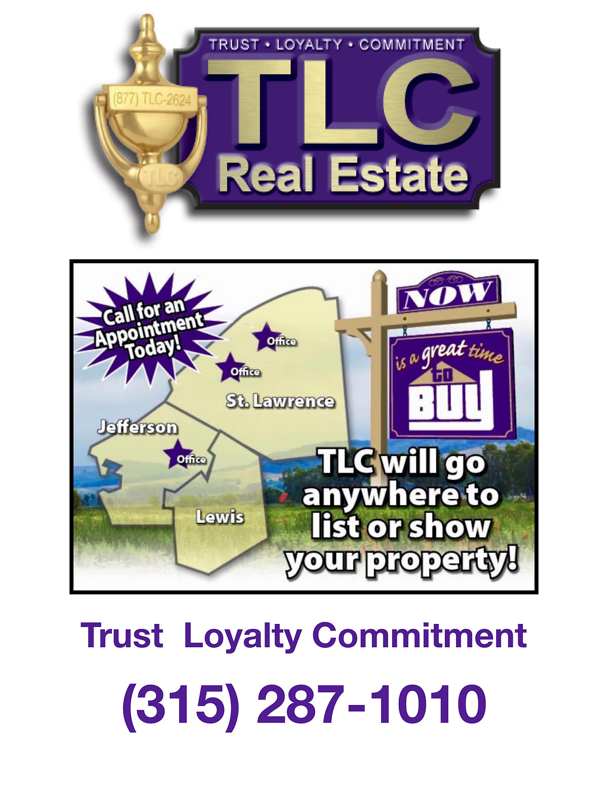 TLC Real Estate ~ Buying or Selling We Are There!