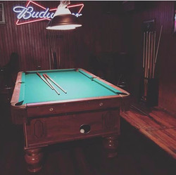 Pool Table at Bar Philly