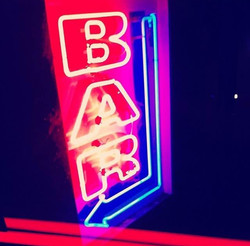 Neon Sign at Bar Philadelphia