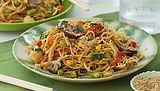 frozen veggies stir fry with noodles Spr
