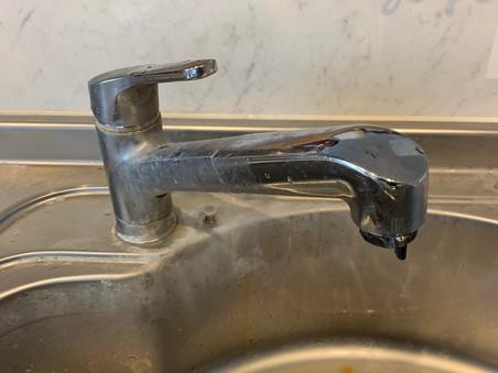 台所混合水栓交換 つくば市