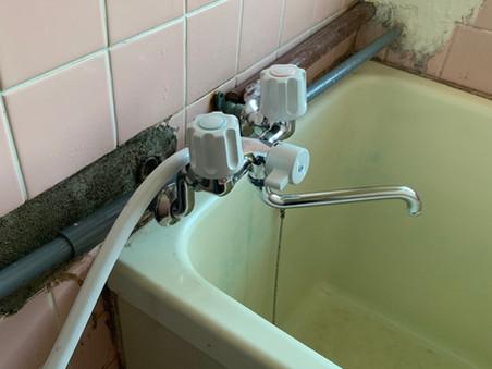 蛇口、シャワーの水漏れ 水戸市