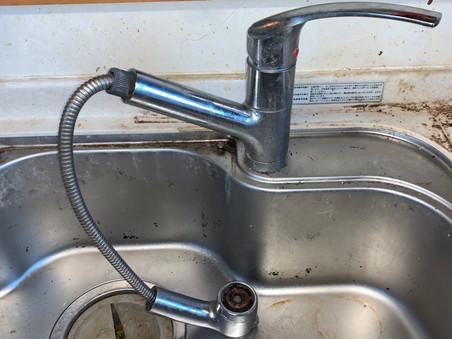 台所の蛇口・シャワー交換 水戸市