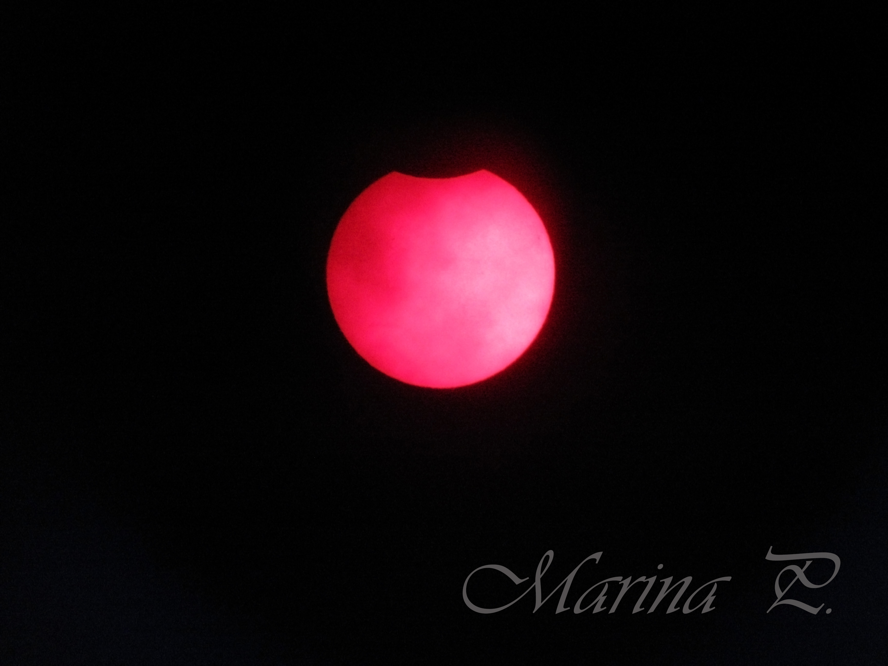 Eclipse parcial (Noviembre 2013)