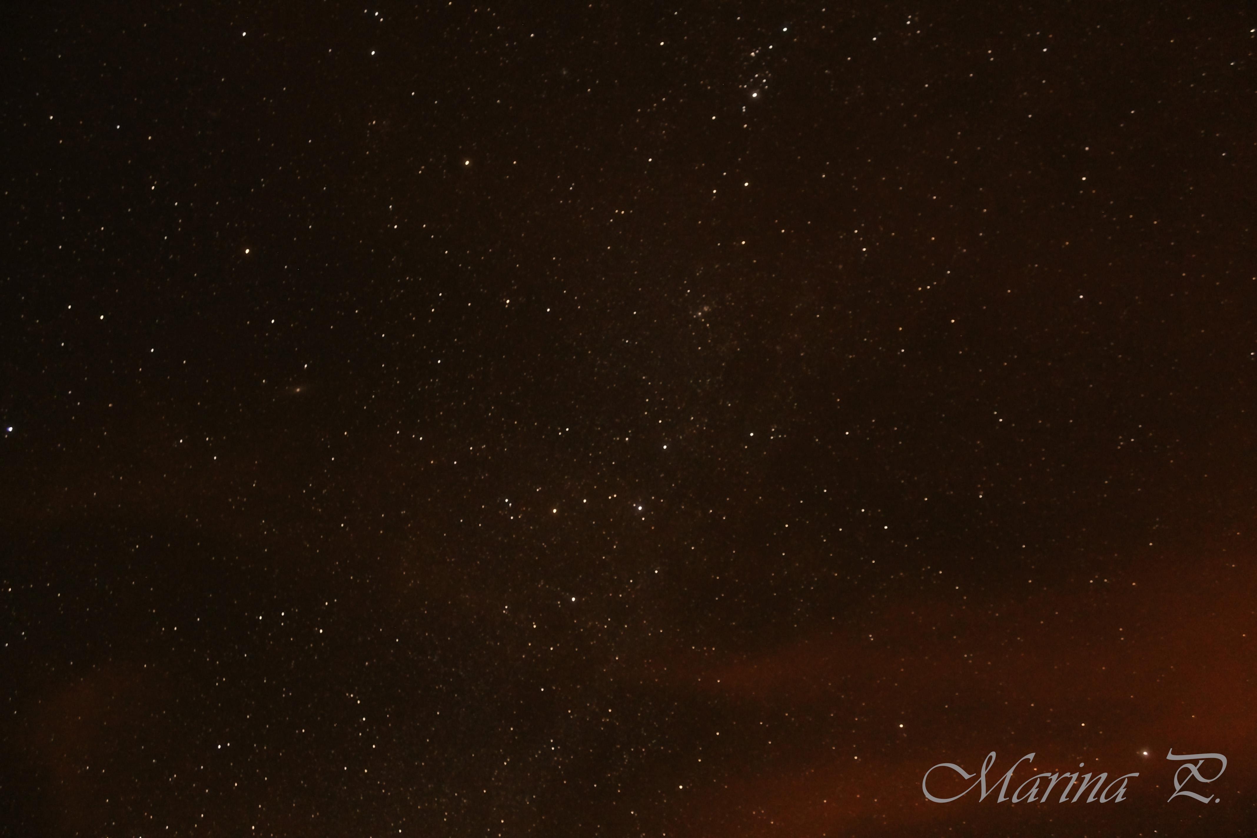 La Vía Láctea desde Potsdam