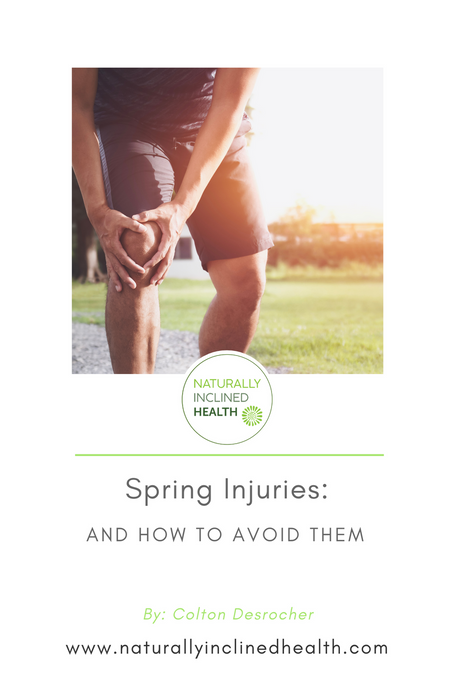 Spring Injuries: and how to avoid them
