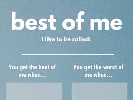 Best of Me - Blue Mercury Template