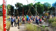 LudoBarrio: Cerro Cárcel tiene un nuevo lugar de esparcimiento para su comunidad