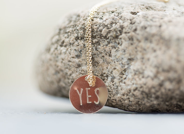 The Yes Necklace (Buy One, Get One Free)