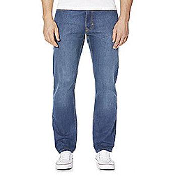 F&F Straight Leg Jeans - Midwash
