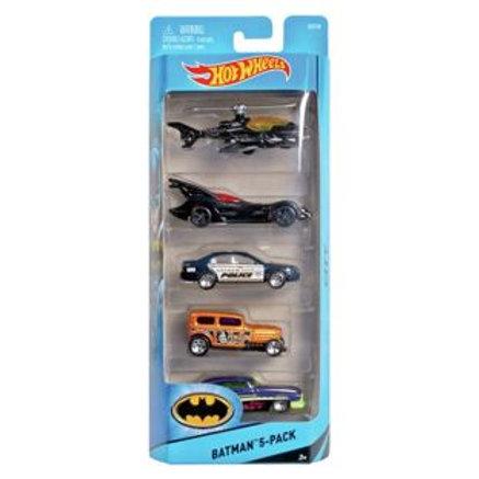 Hot Wheels Car Assortment - Pack of 5