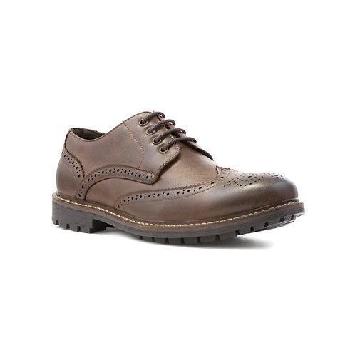 Beckett Mens Tan Lace Up Brogue Shoe