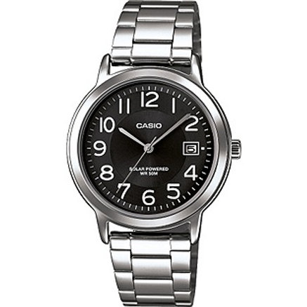 Casio Men's Classic Black Dial Bracelet Watch