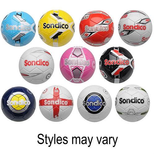 Sondico Football various styles size 4 /5